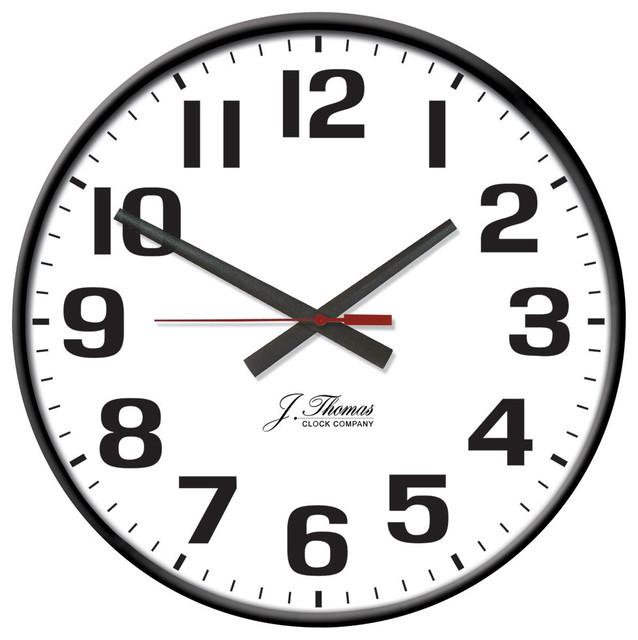 arc electric wall clock