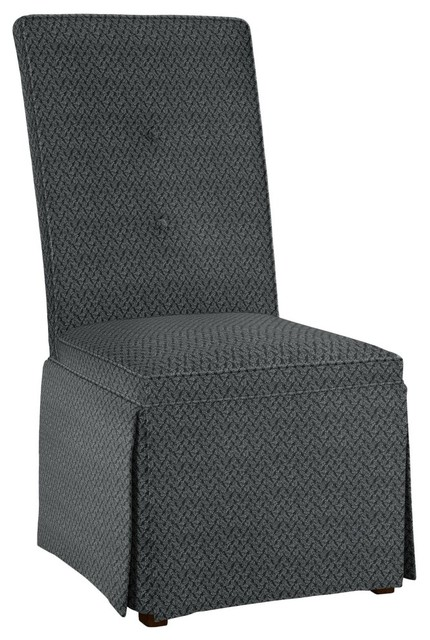Hekman Woodmark Tara Dining Chair, Dark Black