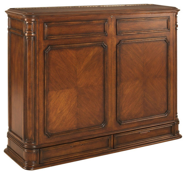 Crystal Pointe XL Brown TV Lift Cabinet - Traditional - Entertainment Centers And Tv Stands - by ...