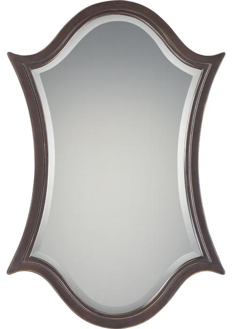 Vanderbilt Palladian Bronze Finish, Large Mirror.