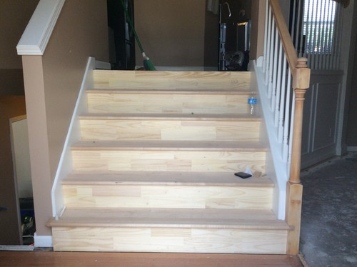 Amazing Stairs Cove Molding