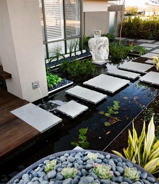 wasserspiele, Garten Ideen