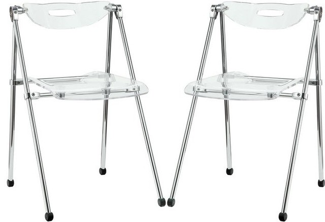 elescope 2 dining chairs contemporary folding