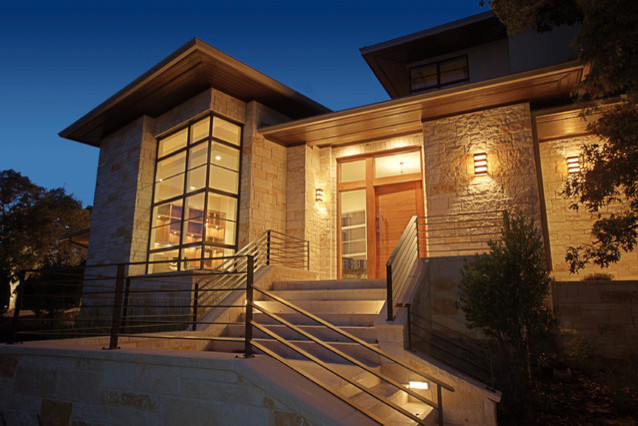 Exterior Wall Sconces - Contemporary - Austin - by Lightcrafters, Inc.