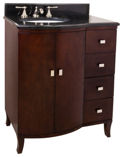 Lyn design wood vanity traditional bathroom vanities and sink consoles by simply knobs and - Simply design a bathroom vanity with five steps ...