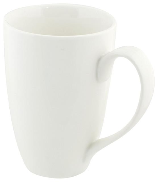 10 Strawberry Street Nova Square Mug in Cobalt Set of 6