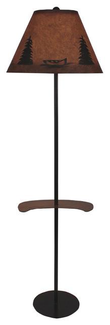 Canoe Tray Lamp.