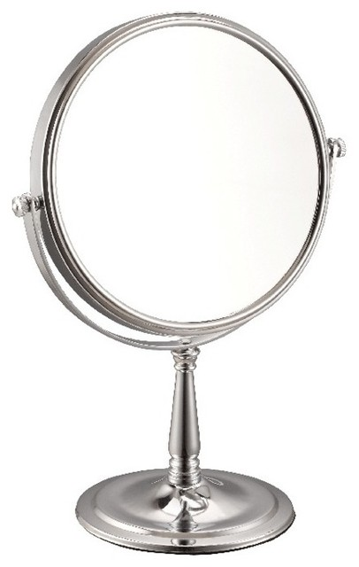 Nameeks 3x Stainless Steel Double Face Makeup Mirror