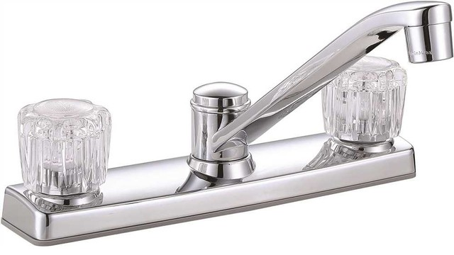 Premier Concord Two-Handle Kitchen Faucet Without Side Spray, Chrome