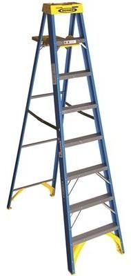 Charleston Ladder Back Non-Swivel  Stools, Set Of 2