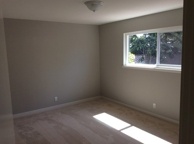 Inspiration for a transitional home design remodel in Orange County