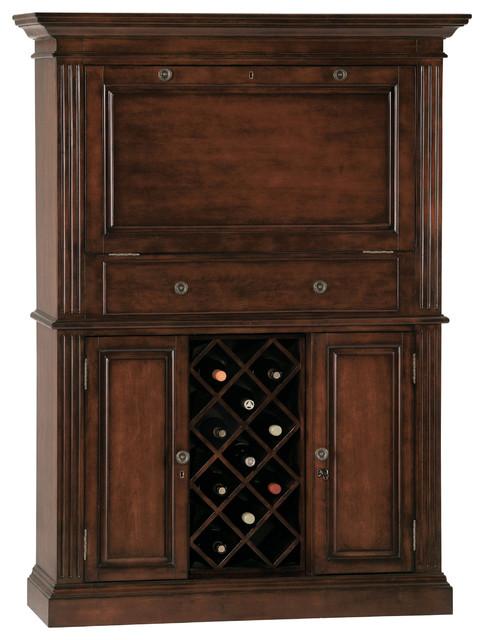 Howard Miller Seneca Falls Wine and Bar Cabinet - Wine And Bar Cabinets - by Howard Miller