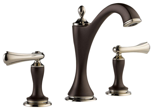 Delta Faucet 3555lfcz 216cz Victorian Champagne Bronze Two: Charlotte: Two Handle Widespread Lavatory Faucet