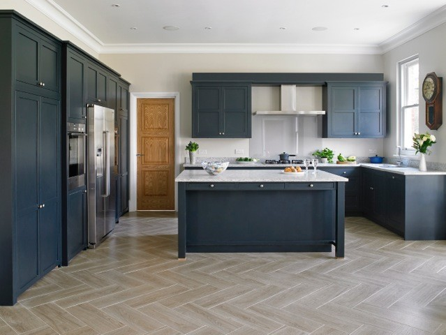 Thames Ditton Bespoke Contemporary Shaker Kitchen Traditional Kitchen London By Brayer