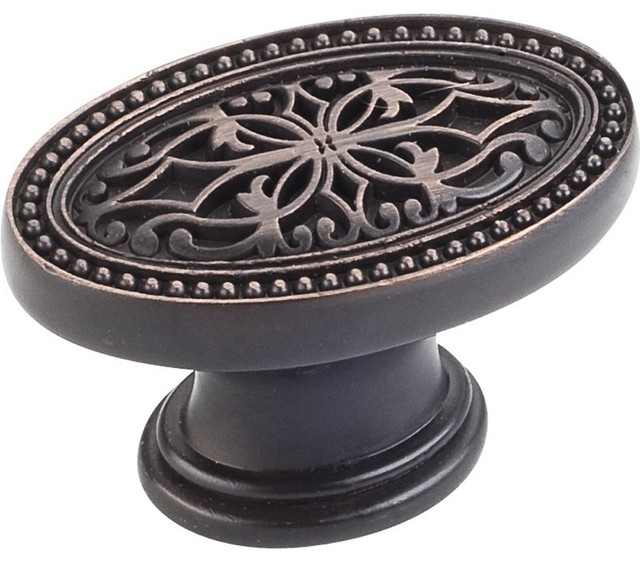 ... Decorative Oval Knob - Cabinet And Drawer Knobs - by Knobs and Beyond