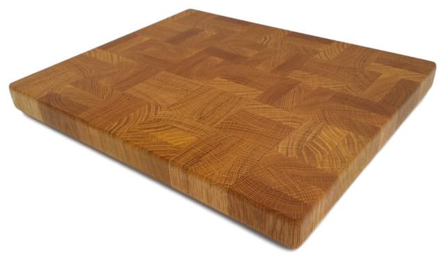 Handcrafted Cutting Board  Chopping Block End Grain Oak