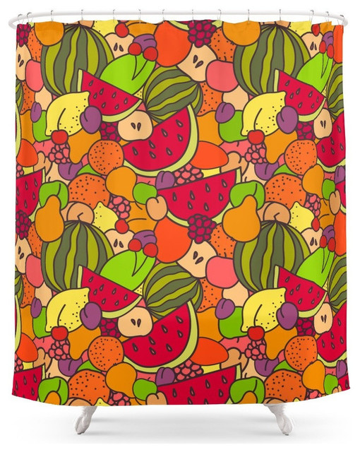Juicy Fruits Shower Curtain
