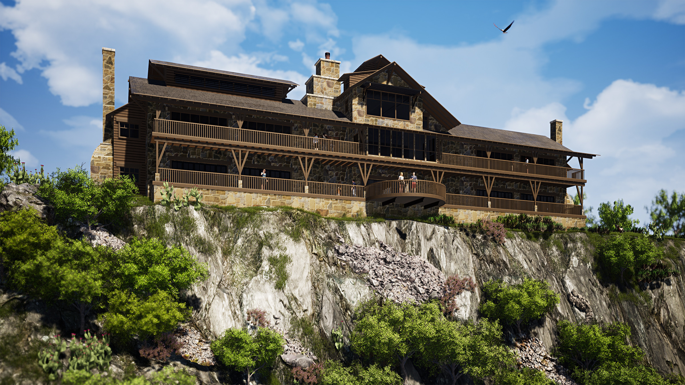 The Overlook Guest Lodge (Under Construction)