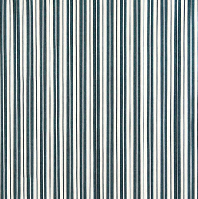 Navy Ticking Stripe Indoor Outdoor Marine Upholstery