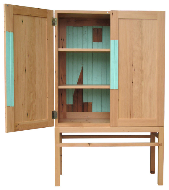 Reclaimed Cabinet Contemporary Accent Chests And Cabinets By