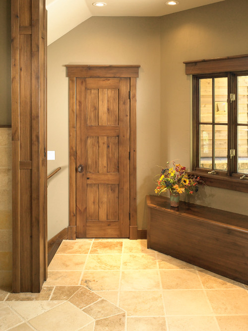 What Color Stain Is Used For The Doors And Trim