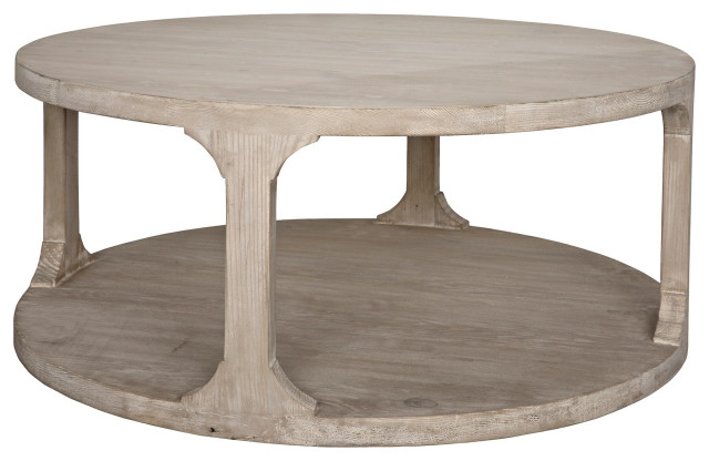Reclaimed Lumber Gimso Round Coffee, Small Round Coffee Tables