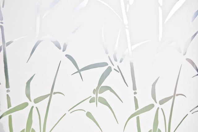 Bamboo Door Privacy Film.