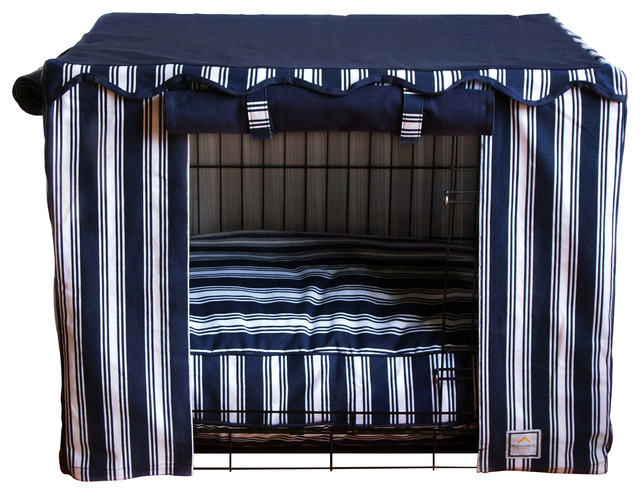 Nautical Stripe Crate Cover, Large