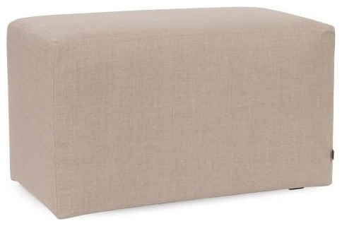 "Howard Elliott Prairie Universal Bench 36"" Linen, Natural. -1"