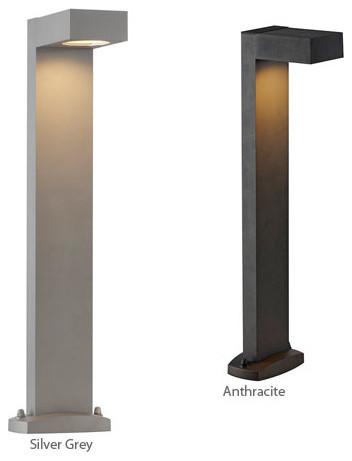 quadrasyl sl 75 232294 led outdoor bollard lamp slv modern