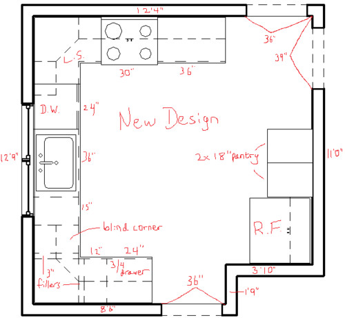 Designing a new kitchen in a small space
