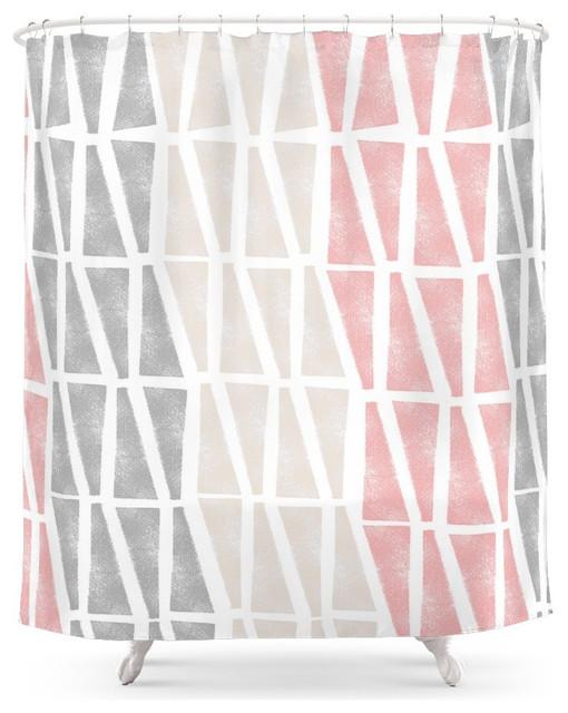 Society6 Sponge Print Shower Curtain