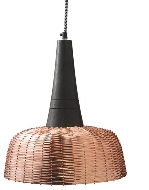 Woven Pendant Copper