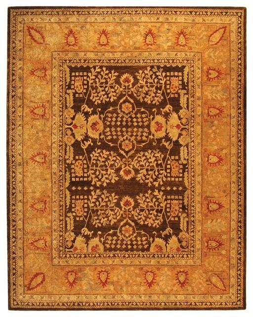 Safavieh Taj Mahal Tjm107a Brown Gold Rug Mediterranean