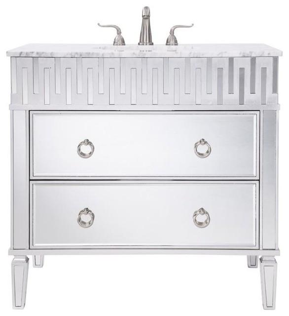 36 in. Single Bathroom Vanity by Elegant Furniture & Lighting