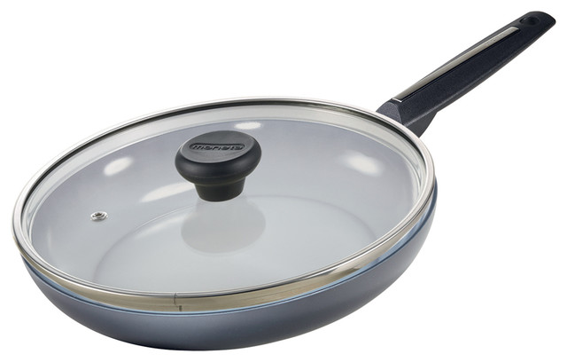 """Azul Gres 8.5"""" Fry Pan With Lid."""