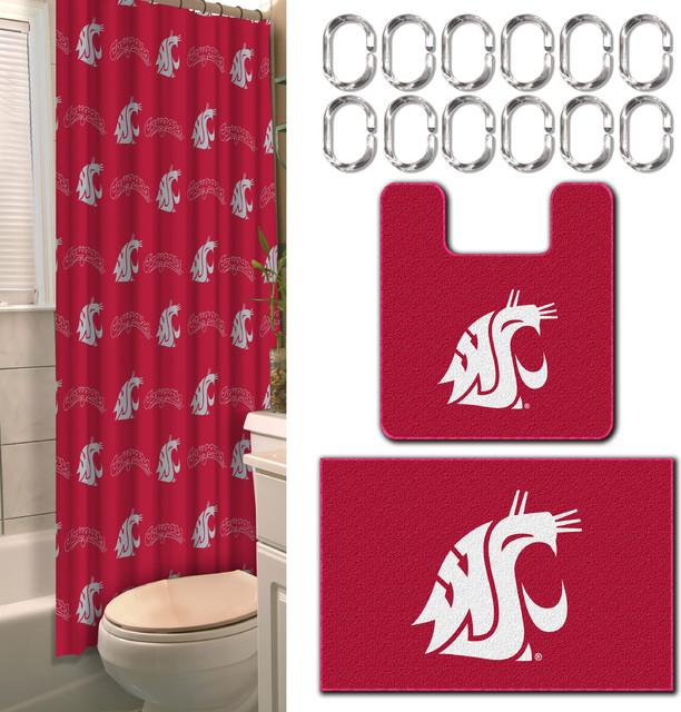 Washington State 15 Piece Bath Set Traditional Bathroom Accessory Sets