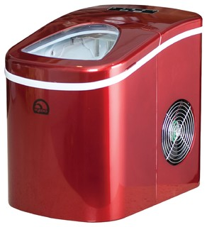 Igloo Compact Ice Maker, Red - Contemporary - Ice Makers ...