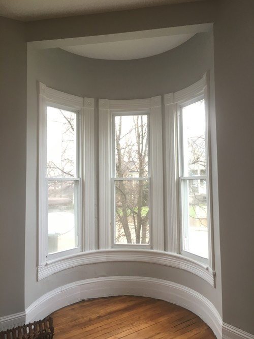 Help How Would You Solve This Bow Bay Window Treatment