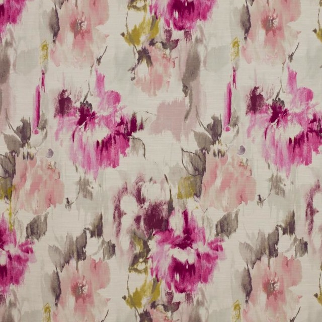 Houzz Spring Landscaping Trends Study: Monet Floral Peony Fabric