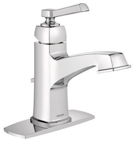 Magnificent Moen Boardwalk Chrome 1 Handle Bathroom Faucet Download Free Architecture Designs Momecebritishbridgeorg