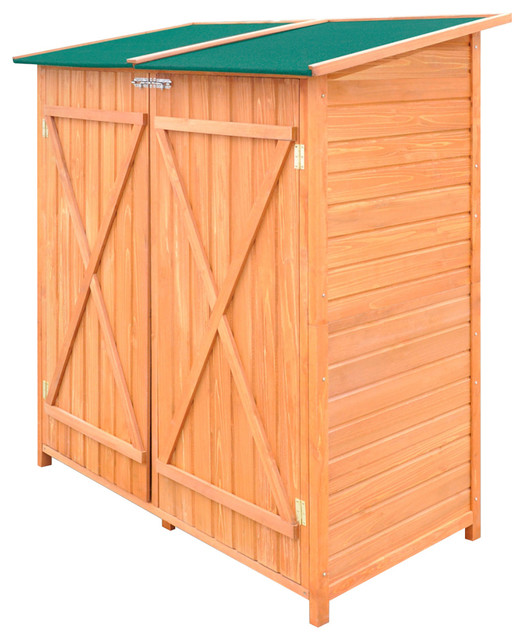 Vidaxl Wooden Shed Garden Tool Storage Room Large.