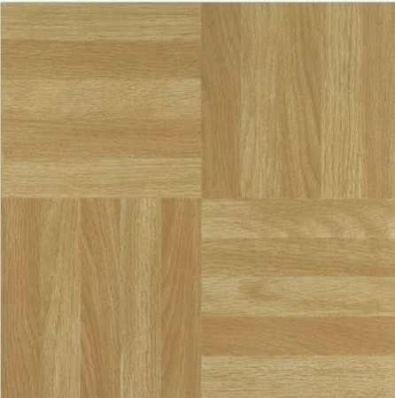 Wood Parquet Vinyl Tile 20 Piece 12x12 Self Stick Modern