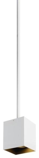 Tech Exo 18 in. 3500K 30 Deg Pendant in Matte White/White Trim w/ 48 in. Stem