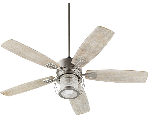 Galveston Indoor Ceiling Fans, Satin Nickel.
