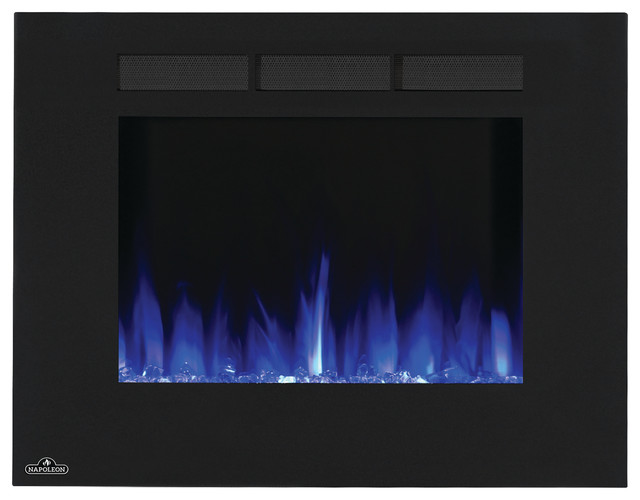 Wall Hanging Electric Fireplace 32 Contemporary Indoor Fireplaces By Addco Electric