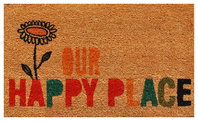 Our Happy Place Doormat by Home & More