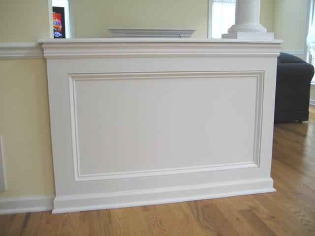 Architectural Shadow Box Wainscoting Traditional New