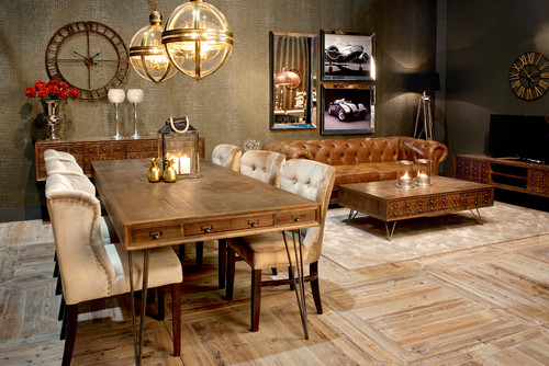Would You Match Your Living Room Furniture With Dining