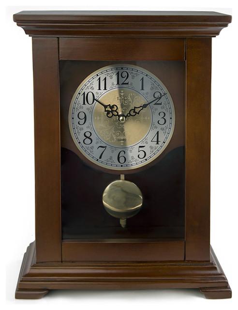 lnc lnc wood pendulum mantel clock desk and mantel clocks